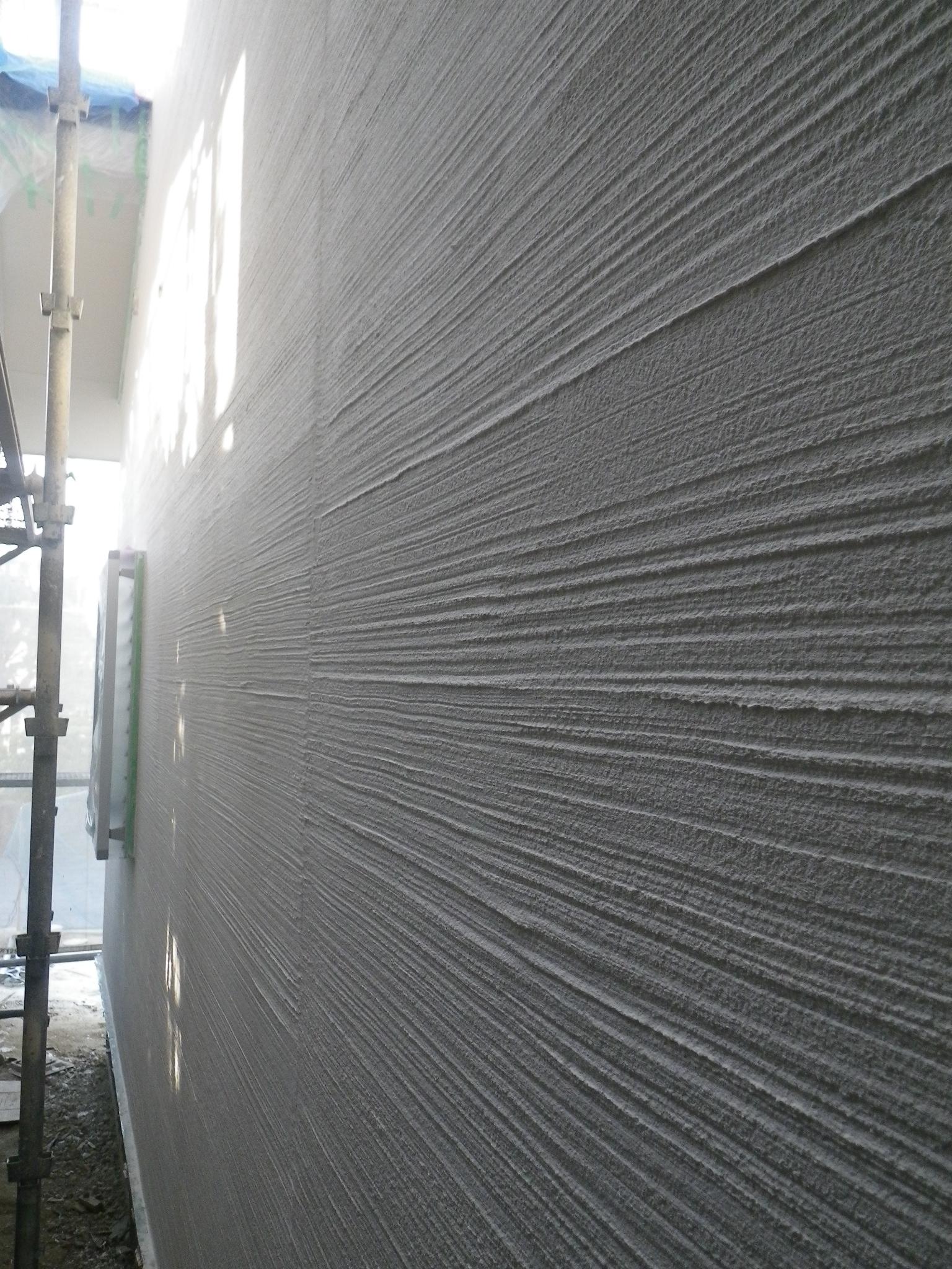 刷毛 引き モルタル