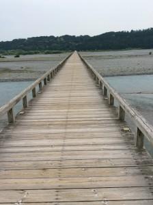 島田市蓬莱橋