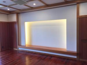 本漆喰 床の間 建材