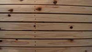 木摺り漆喰 木小舞