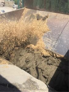 荒かべ 土壁 泥こん