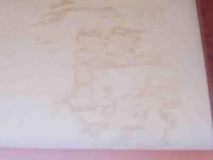 漆喰の汚れ