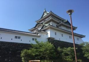 和歌山城 城かべ 漆喰