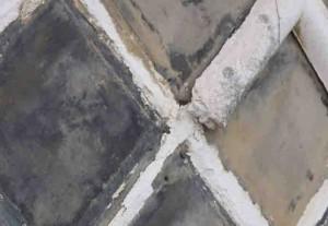 海鼠壁 漆喰