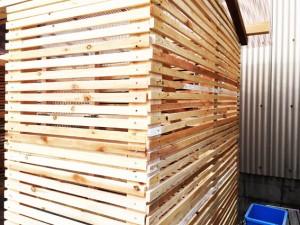 木摺り 城かべ