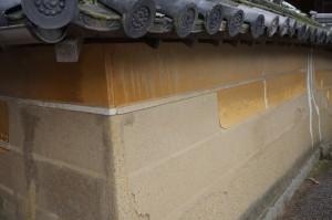 黄土 漆喰 大津壁