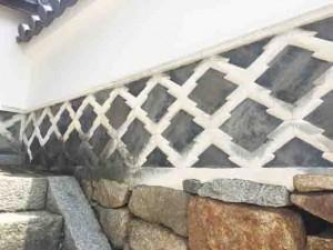 海鼠壁 城かべ 漆喰