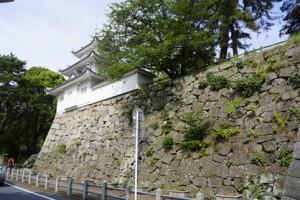 津城 漆喰壁
