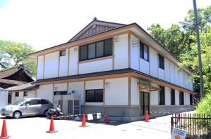 上賀茂神社 高級城かべ