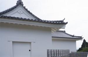 亀山城 多門櫓 漆喰
