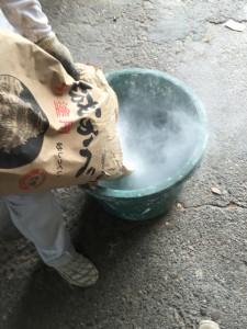 砂漆喰 城かべ中塗り用 砂しっくい