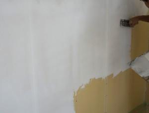漆喰施工下地