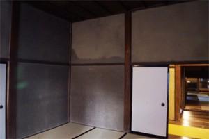掛川城 御殿 土壁