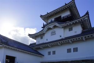 漆喰 掛川城 3