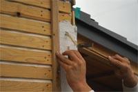 木摺り漆喰