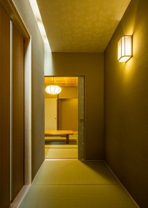 編集:廊下より和室を見る