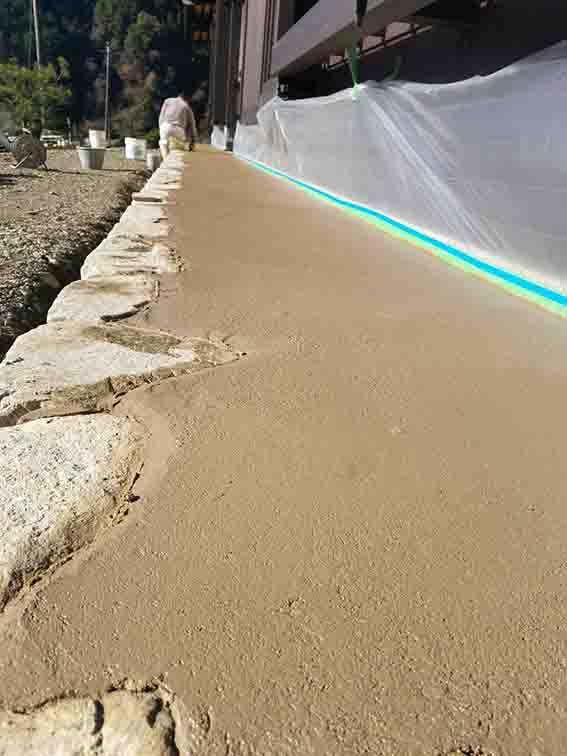 ウルトラソイル 1㎡セット 土間たたき材料