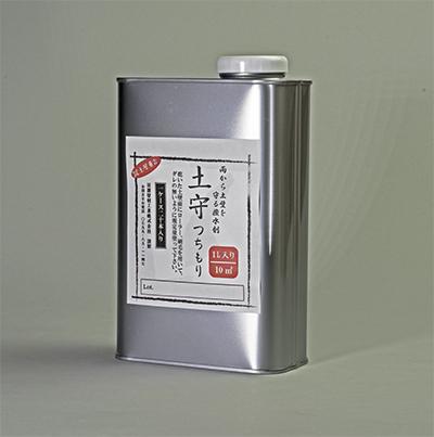 土壁用強化撥水剤 土守(つちもり)